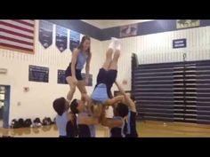 Non Release Braced Inversion Easy Cheer Stunts, Cheerleading Workouts, School Cheerleading, Cheer Workouts, Cheerleading Videos, Uca Cheer, Cheer Coaches, Cheer Mom, Cheer Stuff