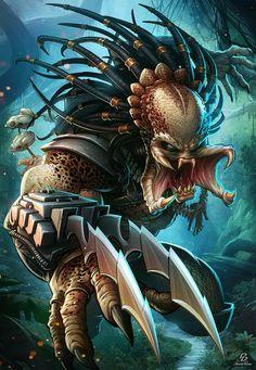 The Predator арт, хищник