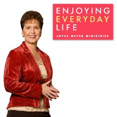 Joyce Meyer's Enjoying Everyday Life program can be seen daily, Monday through Friday on TCT at 7:30a/6:30c and at 12:30p/11:30c. #JoyceMeyer #EnjoyingEverydayLife