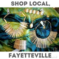 Pewter Jewelry. Shop Local Fayetteville, Arkansas.