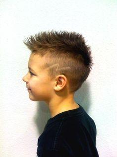 Image result for boys mohawk with lightning bolt