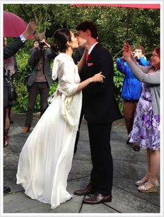 Budget Wedding in NYC   Eva http://www.redovercoat.com/2013/06/budget-wedding-in-nyc.html