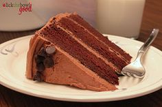 Chocolate Layer Cake with Mocha Cream Cheese Frosting