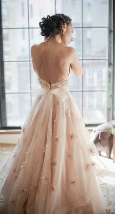 PROM: make the skirt a little shorter and more straps to make it less wedding dresslike