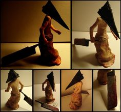 Pyramid Head Figure by ~tenpieces on deviantART