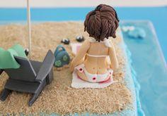Tarta playa.