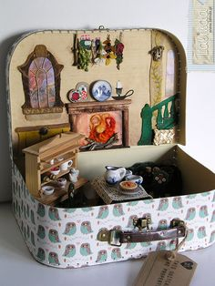 Home in a suitcase for dwarves family by Lalinda.pl | Flickr - Photo Sharing!