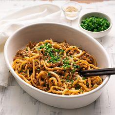 15-minute Pork & Sesame Udon Noodles - Marion's Kitchen