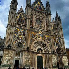 Orvieto... Bellissimo borgo e Duomo meraviglioso!  #adhocband #enjoy #live #music #rock #freetime #orvieto #duomo