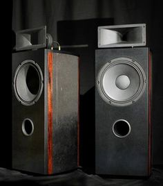 Still like the idea of one side table being an old speaker or amp