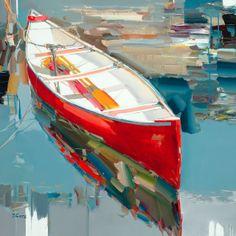 "Josef Kote ""White Light"" 36x36 Original Acrylic on Canvas"