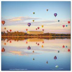 Canberra - Australia. So cool!