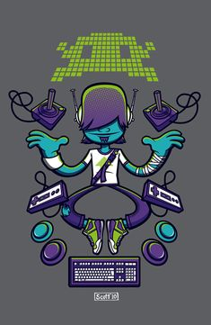Gaming Guru by cronobreaker.deviantart.com on @deviantART