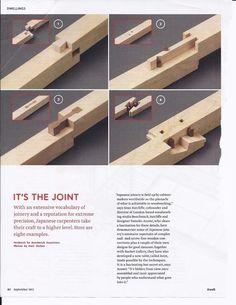 Beautiful Japanese Wood joinery