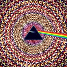 (Pink Floyd) * * ONE OF THEIR BEST ALBUMS WAS ' DARK SIDE OF THE MOON'; THEY WERE AN AWESOME GROUP.