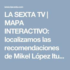 mapa el comidista españa Tv, Maps, Interactive Map, Television Set, Television, Tvs