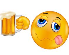 Cheers emoticon to vector illustration. Illustration by hand - 16457122 - Cheers Emoticon – Choose from over 62 million high quality royalty free stock photos, images and - Smiley Emoji, Emoticon Faces, Funny Emoji Faces, Animated Emoticons, Funny Emoticons, Alcoholic Drinks Bottles, Bisous Gif, Images Emoji, Naughty Emoji