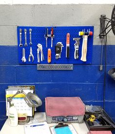 2e325b5c9aff16e5695e153a7fd7c799 metal pegboard lean manufacturing wall control tool board pegboards make great lock out tag out Wiring Harness Connectors at gsmx.co