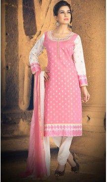Salmon Color Chanderi Silk Straight Cut Readymade Churidar Suit   FH512978100 #salwar, #kameez, #readymade, #anarkali, #patiala, #pakistani, #suits, #online, #stitched, #indian, #dress, #material, #shopping, #fashion, #boutique, #mode, @heenastyle , #designer , #pakistani , #evening , #wedding , #casual , #palazzo , #patiyala , #punjabi , #churidar , #narrow