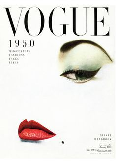 Old Vogue, photo Erwin Blumenfeld