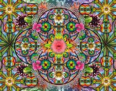 """"""" El orden de los ciclos""""  Mixed Media.  María Salcedo, México.     lamariadsign.tumblr.com       All rights reserved.     mariadsign@gmail.com     http://www.facebook.com/pages/MaRia-Dsign"""
