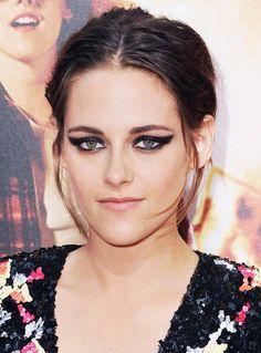 Kristen Stewart Just Debuted the World's Coolest Cat Eye