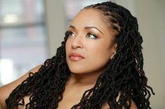 African American Wedding Hairstyles & Hairdos: natural