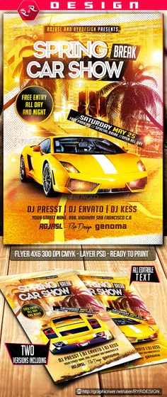 9 best car show flyer images car show posters advertising