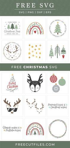Christmas Quotes, Christmas Svg, Christmas Wishes, Mermaid Kisses, Free Christmas Printables, Vinyl Projects, Mistletoe, Vinyl Decals, Cricut