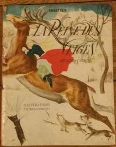 "Andersen ill. par Benvenuti ""La Reine des neiges"""