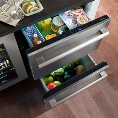 Double Drawer Refrigerator From: Thermador | Kitchen Bath Design News