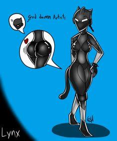 fortnite lynx naked
