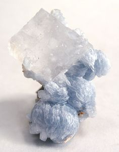 Calcite on Brucite - Wessels Mine, Kalahari Manganese Fields, South Africa.