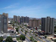 Isla Margarita, año 2009... Avenida 4 de Mayo en Porlamar