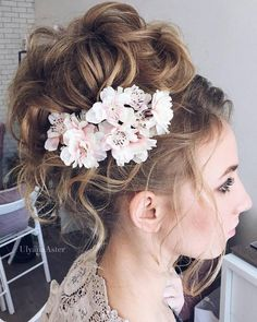 Wedding Updo Hairstyles for Long Hair from Ulyana Aster_21 ❤ See more: http://www.deerpearlflowers.com/wedding-updo-hairstyles-for-long-hair-from-ulyana-aster/2/