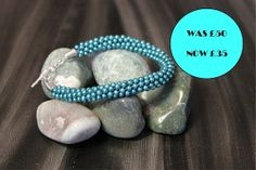 SALE  Bracelet  Teal by KorryLittleShop on Etsy, £35.00