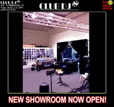 New Showroom, come visit us!
