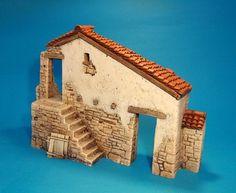 Spanish House, Toy Soldiers, Decorative Boxes, Miniatures, Outdoor Decor, Crafts, Concrete, School, Home Decor