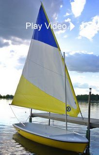 Sunflower Brand Sailboat I Had One Of These As A Kid