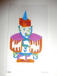 5-17-2015 Colorful well dressed Gnome / Elf