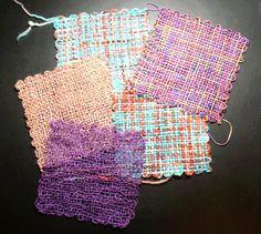 Build a weavette style weaving loom