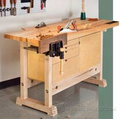 Build Essential Workbench - Workshop Solutions Projects, Tips and Tricks | WoodArchivist.com