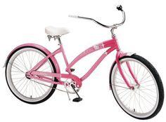 Hello Kitty cruiser, aka dream bicycle.