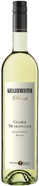 Gelber Muskateller KELLERMEISTER PRIVAT Vintage: 2013, Gelber Muskateller Winedetails: Bright greenish yellow; typical aromas of elderflowers and fresh nutmeg grapes, vivid, saucy and cheerful wine with an adequate acidity, very clear structured, a lot of fruit and charm with a delicious finish.