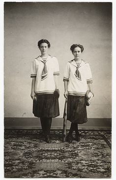 [Two Baseball Players], ca. 1918