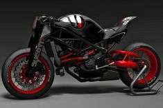 Naked Ducati by KBike Factory Custom Motorcycle. I thought at first glance that it was a KTM and not a Ducati! Custom Motorcycle Wheels, Motorcycle Design, Bike Design, Triumph Motorcycles, Cool Motorcycles, Vintage Motorcycles, Motocross, Ducati Custom, Custom Bikes