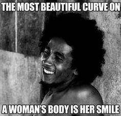 Bob Marley Smiling again...