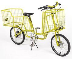 Camioncyclette cargo bike design by Christophe Machet