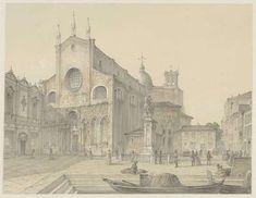 Venetië: S. Artwork Display, Public Domain, Venice, Taj Mahal, Italy, Painting, Painting Art, Paintings, Italia