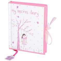 A lovely Fairy Blossom Secret Diary for 7 year old girls to write or draw in...